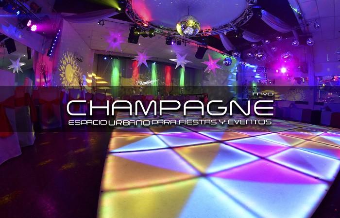 Salón Champagne Con Organizacion Integral En Montevideo