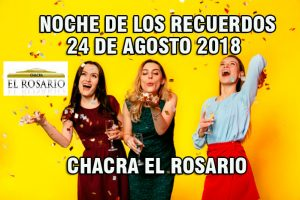 24 de Agosto- Fiesta de los Recuerdos Chacra El Rosario