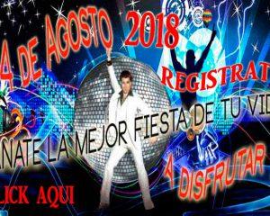 registrate y gana entradas para la fiesta de la nostalgia 2018
