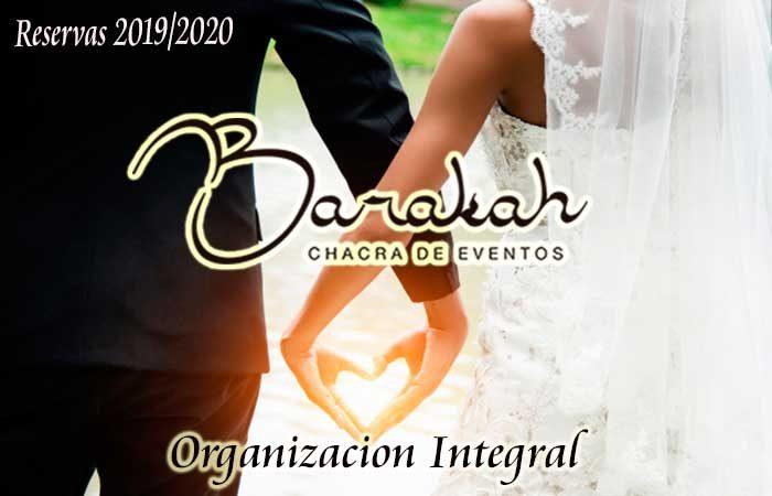 Reservas 2019/20 en Chacra de Eventos Barakah