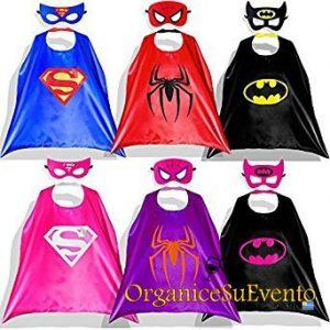 Capas Super Heroes Personalizadas Souvenirs Fiestas Infantiles