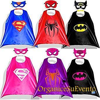 Capas Super Heroes Personalizadas Souvenirs