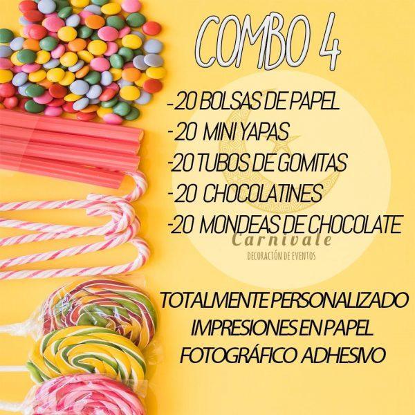 mesa de dulces personalizada para fiestas infantiles en uruguay