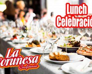 lunch para celebraciones despedidas de fin de año 2018