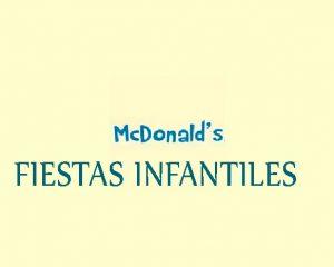 Mc Donald's Infantil