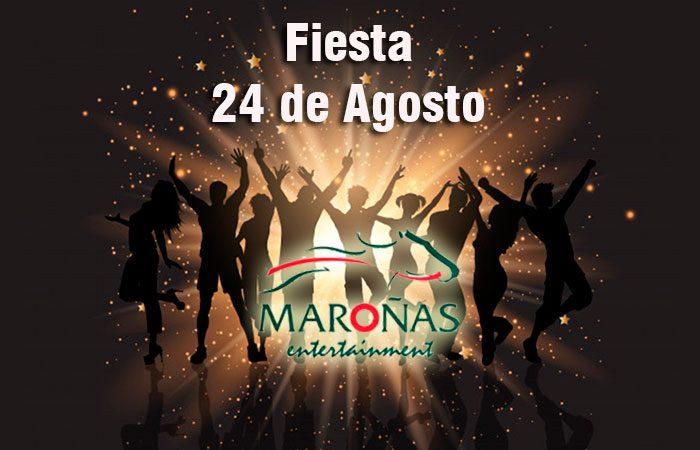 24 de Agosto - Fiesta en Maroñas