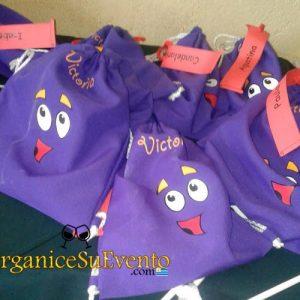 mochila personalizada para niños