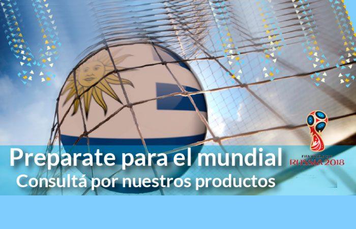 Superfiestas alienta a Uruguay!!!