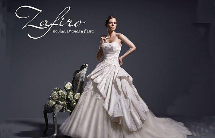 Alquiler de Vestidos Alta Costura Zafiro Novias, 15 años y Fiesta
